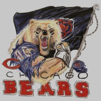 Bear Down, Chicago Bears by Jamin95