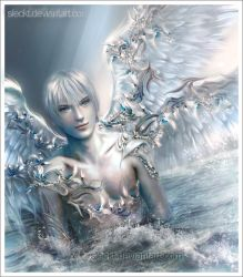 Silver Angel by sleckt