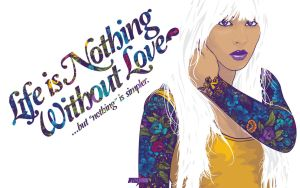 Nothing Without Love Wallpack by j3concepts