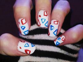 Togepi Nails