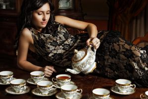 cup of tea by sinchukoff