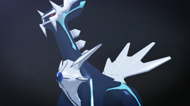 Dialga (Pokemon 3ds) by GuilTronPrime