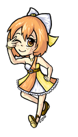 Chibi Mikan by Crysums
