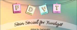 Skin for XWIDGET by Imfairygirl