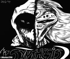 Synthesis comic cover by ZLMike