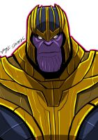 THANOS by Sabrerine911