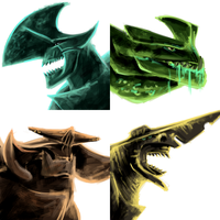 Some Kaijus by Mimint