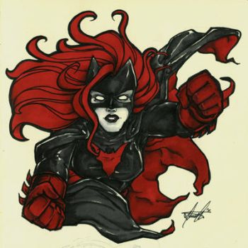 Batwoman by Marker-Mistress