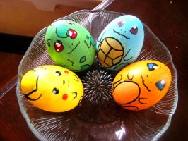 Pokemon Easter Eggs by lanini