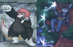 March 2018 Support Illustrations by ClefdeSoll