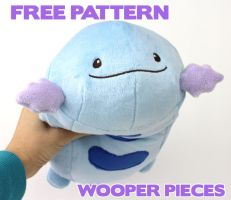 Free Wooper pattern pieces