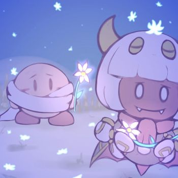 [DailyFanart] 29/12/17: Taranza and Kirby by PhiphiAuThon