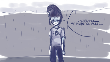 jimmy neutron ANGST by kamomii