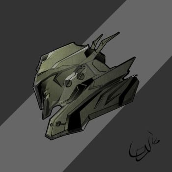 Mech Head_001 by seanplenahan