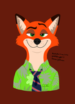 Nick Wilde (Disney) by Yoshiknight2