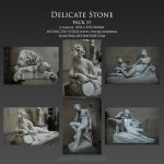 Delicate Stone Pack 57 by Elandria