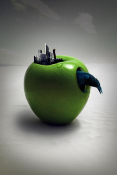 Another Kind Of Apple by graphiqual