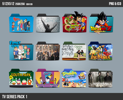 TV Series Folder ICON Pack 1 by kasbandi