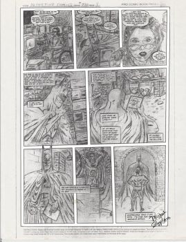 Batman Comic Submission, by Mike Pizzolato by MikePizzolato