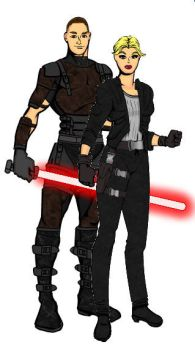 SW Couples: Galen and Juno by LadyIlona1984