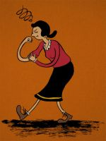 Olive Oyl by Hellofriend