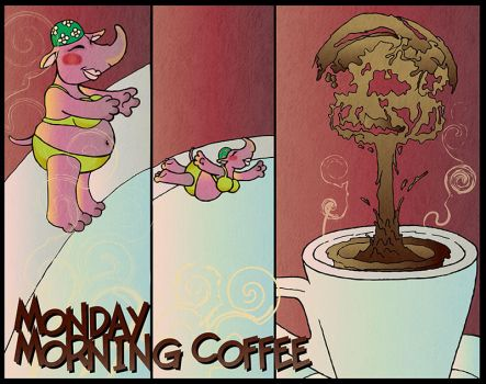 Monday Morning Coffee by euriante
