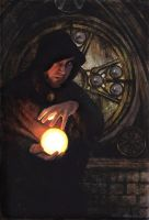'Atlantes the Sorcerer' by PinkParasol