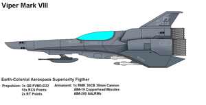 Viper VII Aerospace Fighter by PaintFan08