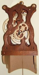 All wood clock movement 2 by back2root