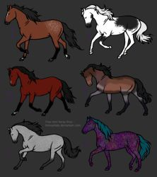 Horse Adoptables (1/6 Available)*EDITED* by renasma6890