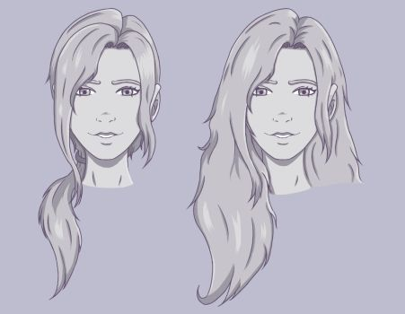 Left 4 Dead OC - Front View Sketches by SugarpuffZombie