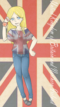 Looloo in London by KatchuuH