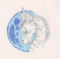 Moonlight-traditional by Cerulean452