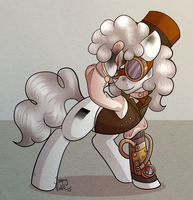 Halloween - Steampunk Colorblind by SugaryViolet