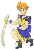 Seramyu Sailor Uranus by mene