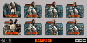 Rampage (2018) Folder Icon Pack by Bl4CKSL4YER
