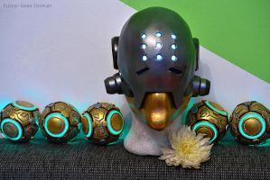 Zenyatta Overwatch - Cosplay WIP by cloud-dark1470
