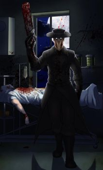 In the darkness of a hospital by wildragon