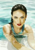 Olivia Wilde Painting by frankwyte81