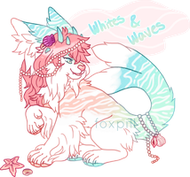 Whites and Waves Auction - Closed! by remixtape