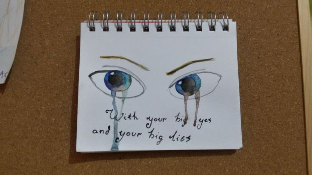 big eyes and big lies by silademircan
