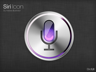 Siri icon by BirdUi