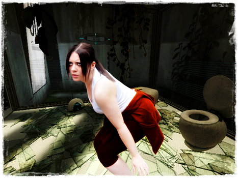 Chell's Return by jagged66
