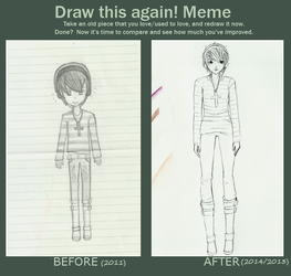 Draw this again 2011-2014/2013 by Shareeza-Ree