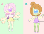 Xcycrablang Adoptables Open!! by JungRaeJin