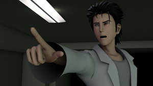 Okabe Rintarou dubs thee an official Lab Member by TheRPGPlayer