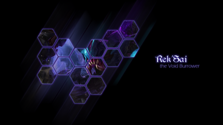 Rek'Sai Wallpaper by muamerART