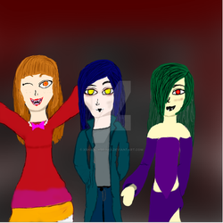 Three Psychos Without the blood by XShadowbrineX