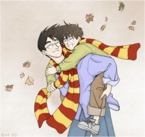 Harry and James by telesketch