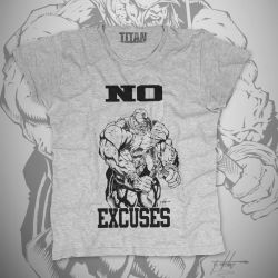 NO EXCUSES T-Shirt by SHWZ